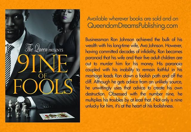 www.queendomdreamspublishing.com #TheQueen #9ineOfFools #AvailableMay14th #OrderToday #readersofinstagram #authorsofinstagram