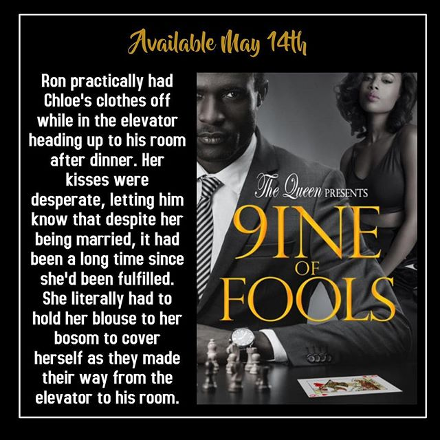 Are you ready for the heat and drama?  #9ineofFools  Available May 14th  https://amzn.to/2Grll21