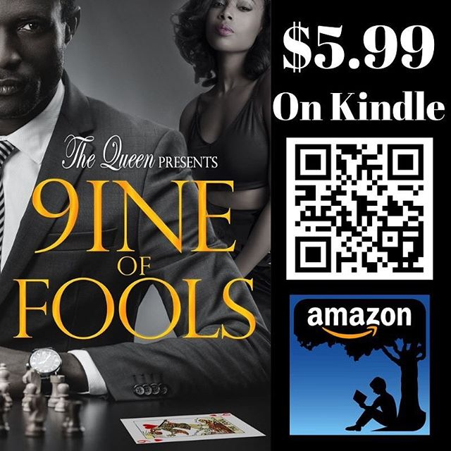 Only $5.99 on Kindle! Download your copy. #drama #drama #drama #readersofinstagram #africanamericanreaders #africanamericanauthors #blackbooksmatter  Link in bio  About the book: Businessman Ron Johnson achieved the bulk of his wealth with his long-time wife, Ava Johnson. However, having committed decades of infidelity, Ron becomes paranoid that his wife and their five adult children are out to murder him for his money. His paranoia coupled with his inability to remain faithful in his marriage leads Ron down a foolish path and off the cliff. Although he gets advice from an unlikely source, he unwittingly uses that advice to create his own destruction. Obsessed with the number nine, he multiplies his troubles by at least that. Not only is nine unlucky for him, it's at the heart of his foolishness.