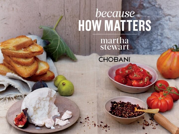 Chobani Presentation for Martha Stewart