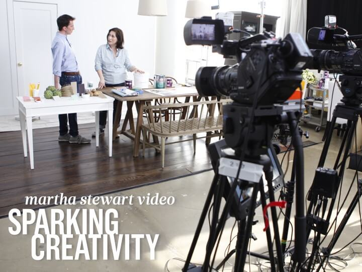 Video Content Presentation for Martha Stewart