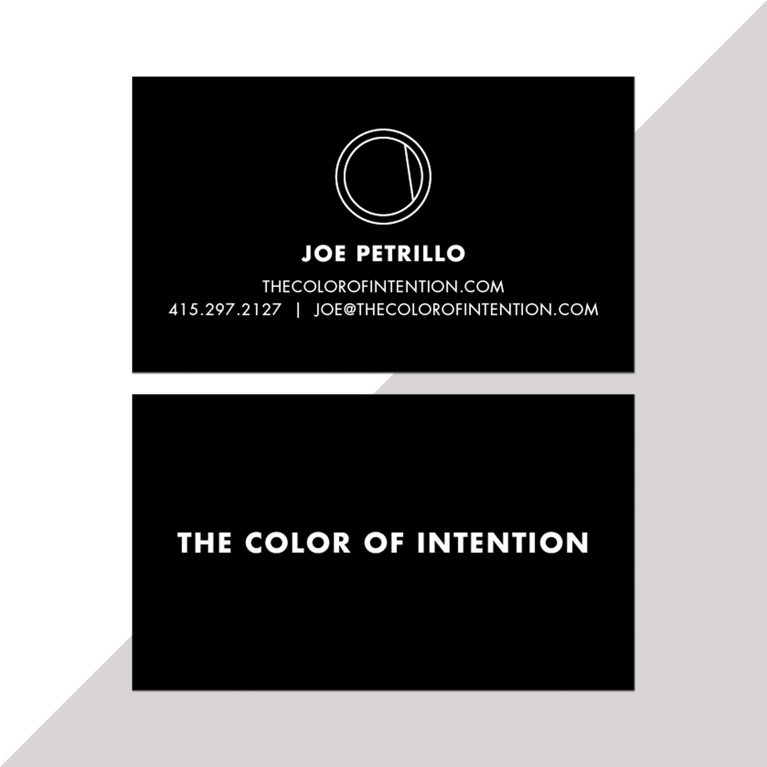 Color of Intention Branding