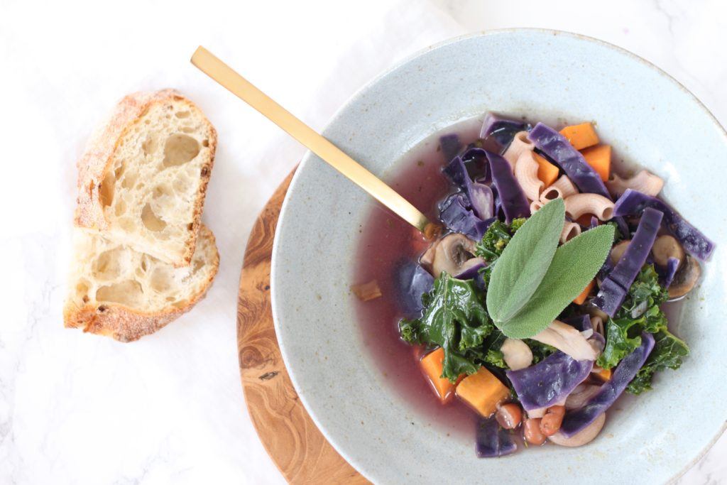 Meditative Minestrone and Mindful Cooking - The Great Full