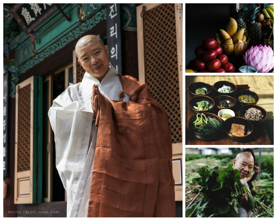 """I make food as a meditation. I am living my life as a monk with a blissful mind and freedom. I wish you a healthy, happy life."" –Jeong Kwan, Buddhist Monk and Chef (Photo Credit: Mina Park, HKT)  - The Great Full"