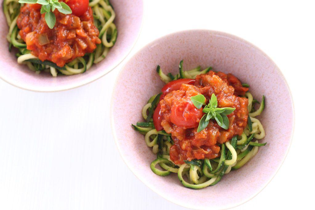 aubergine napoletana pasta sauce