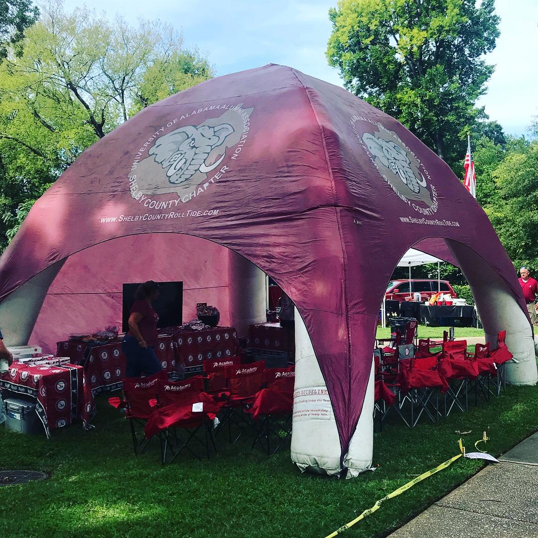 Shelby Co UA Alumni Tent