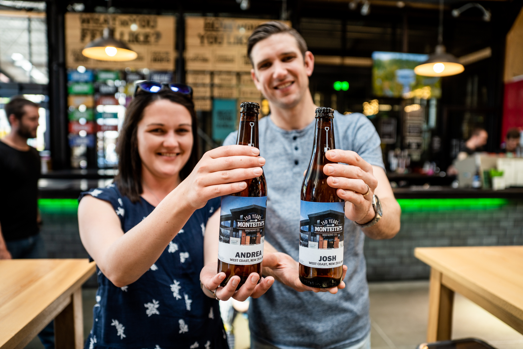 Monteiths Brewery Tours -