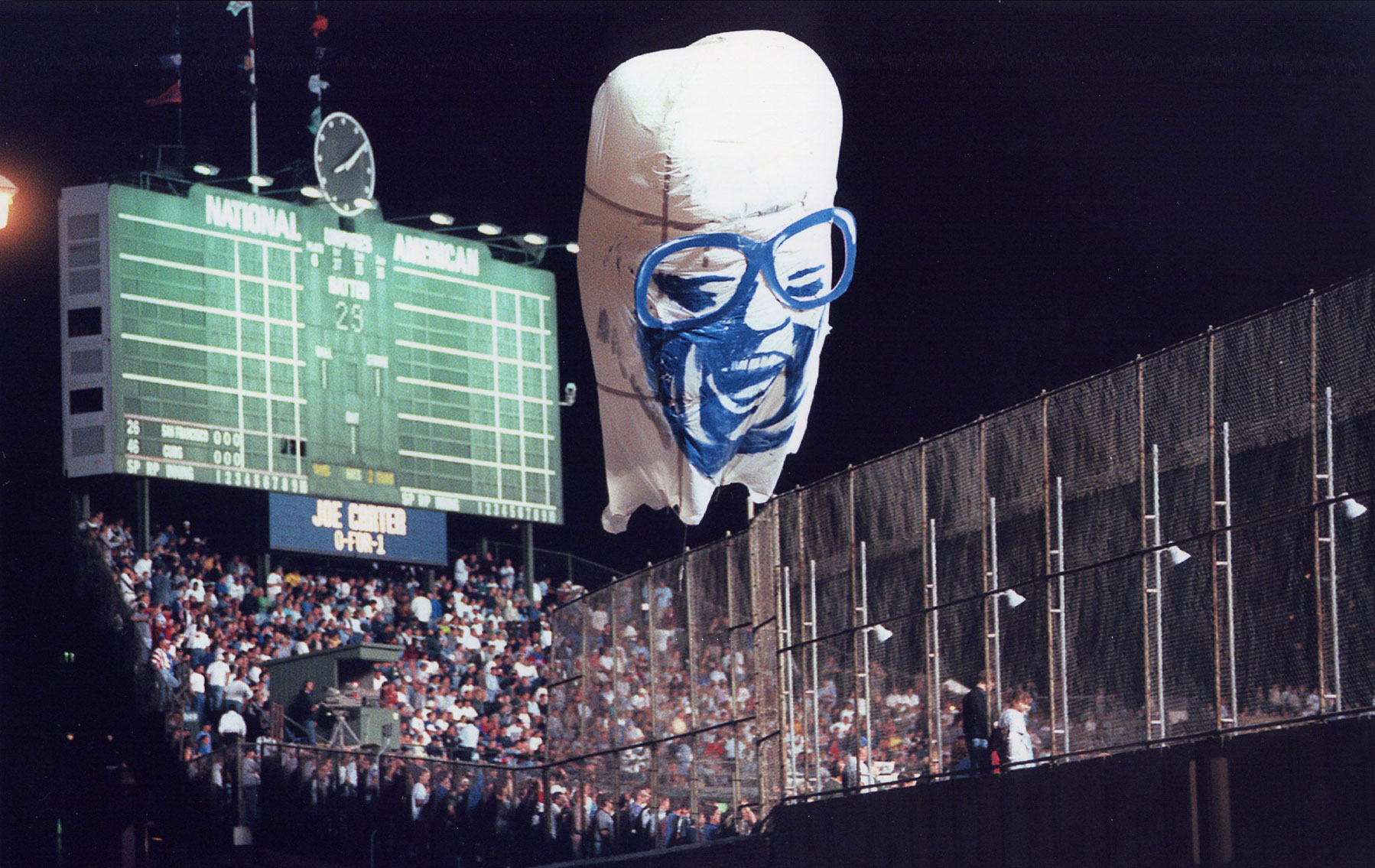 The Ghost of Harry Caray