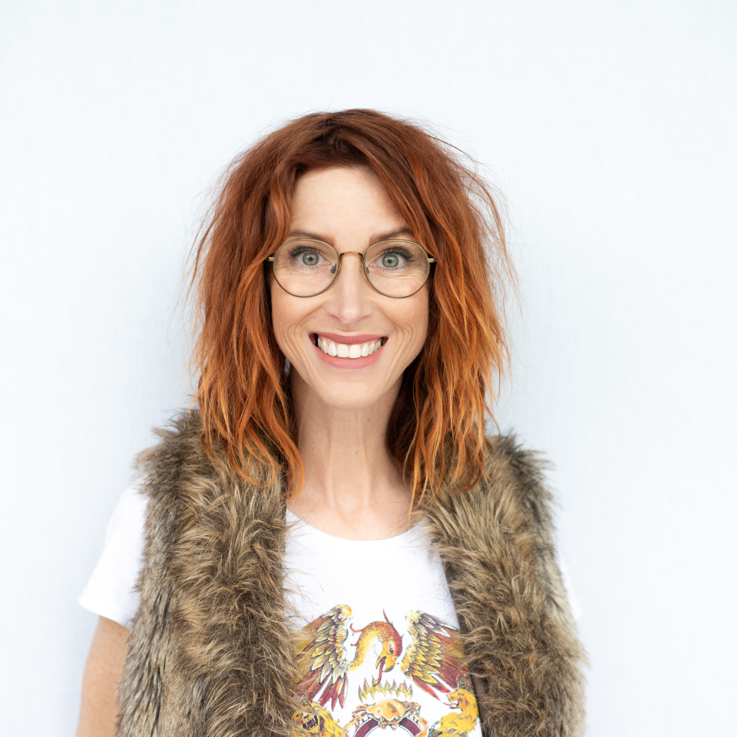 "ANGIE CHEATHAM - STYLIST - A Goonie at heart, Angie has been in the hair industry for close to 30 years. In 2013, she decided to become a cut specialist, which then evolved into her adoption of dry cutting, which is a softer, more organic approach to cutting hair. She enjoys giving each haircut the best possible ""version"" of itself, one that compliments both the hair and the wearer. Bringing out the unique magic in each person she sees.....that's a good day! Angie has an impressive education in cutting, with dry-cutting workshops under Jon Reyman, cut workshops with Gerard Scarpaci, Susan Ford, and Joel Torres, and further cutting education under Buddy Porter."