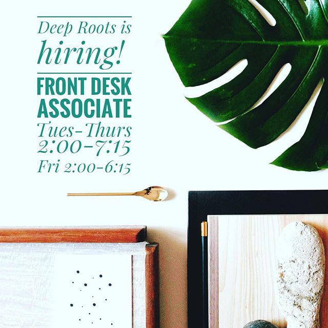 Come work with me! And a fabulous team! Contact melanie@deeprootsatxsalon.com if you are interested. #deeprootsatx #frontdeskrunstheworld #salonlife