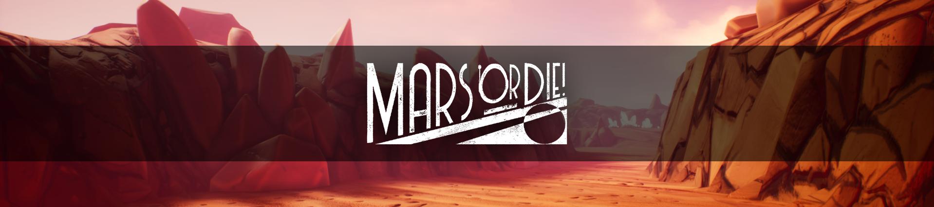 mars or die banner