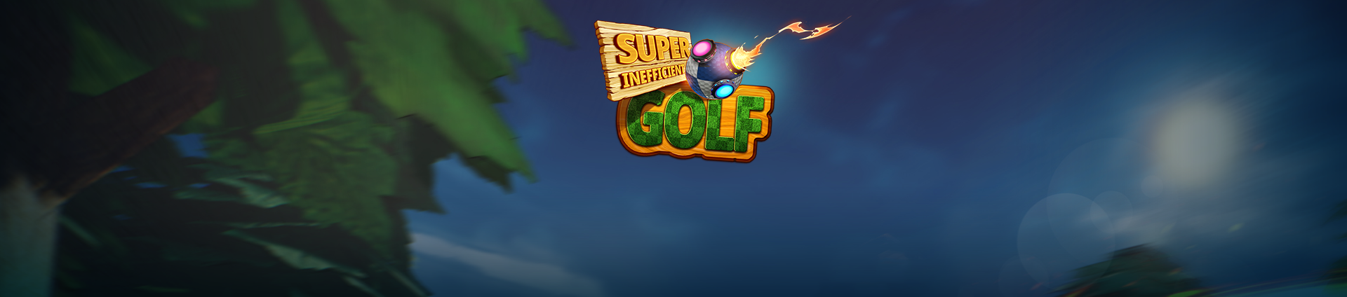 super inefficient golf banner