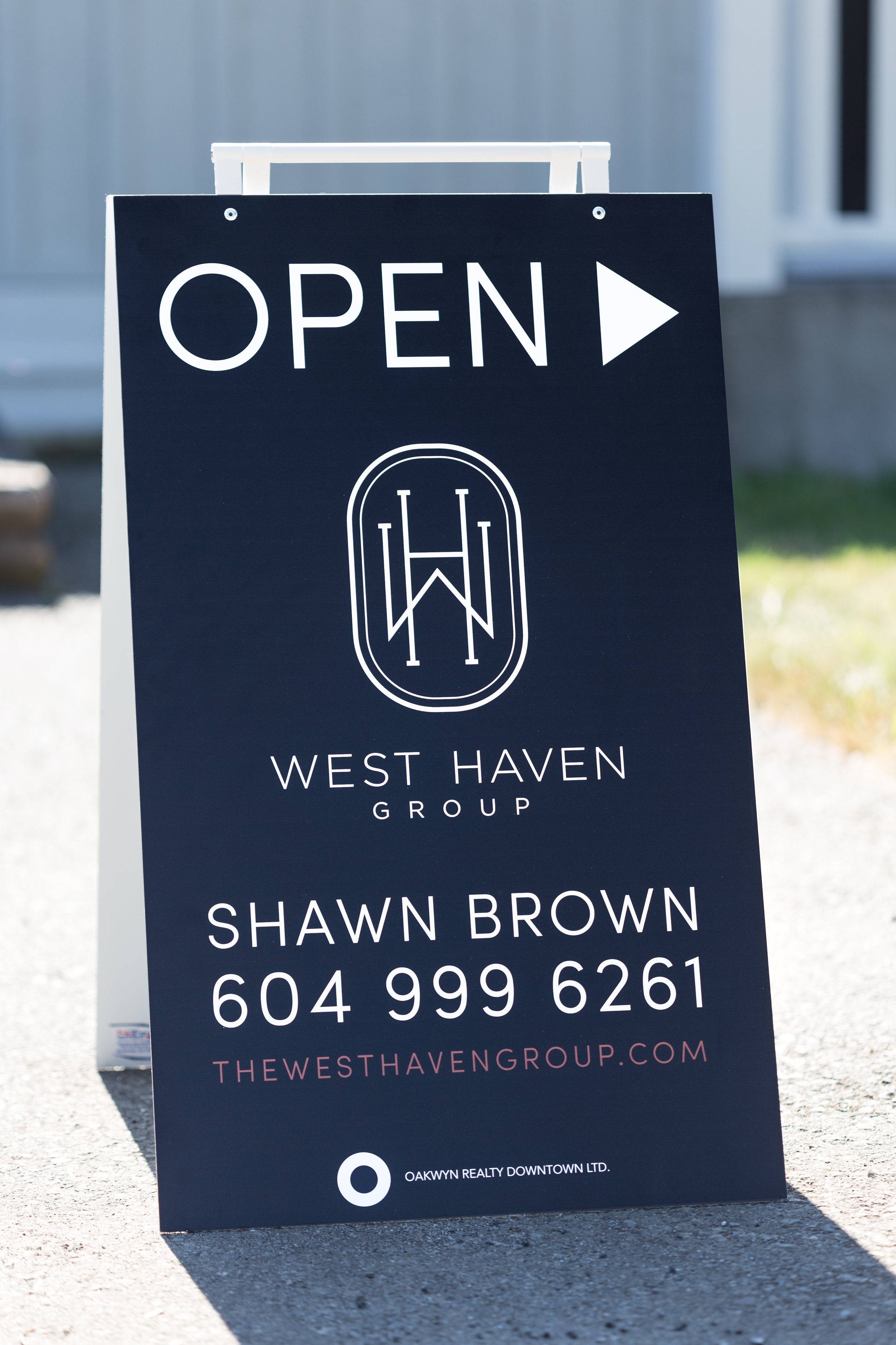 OPEN HOUSE SIGN -