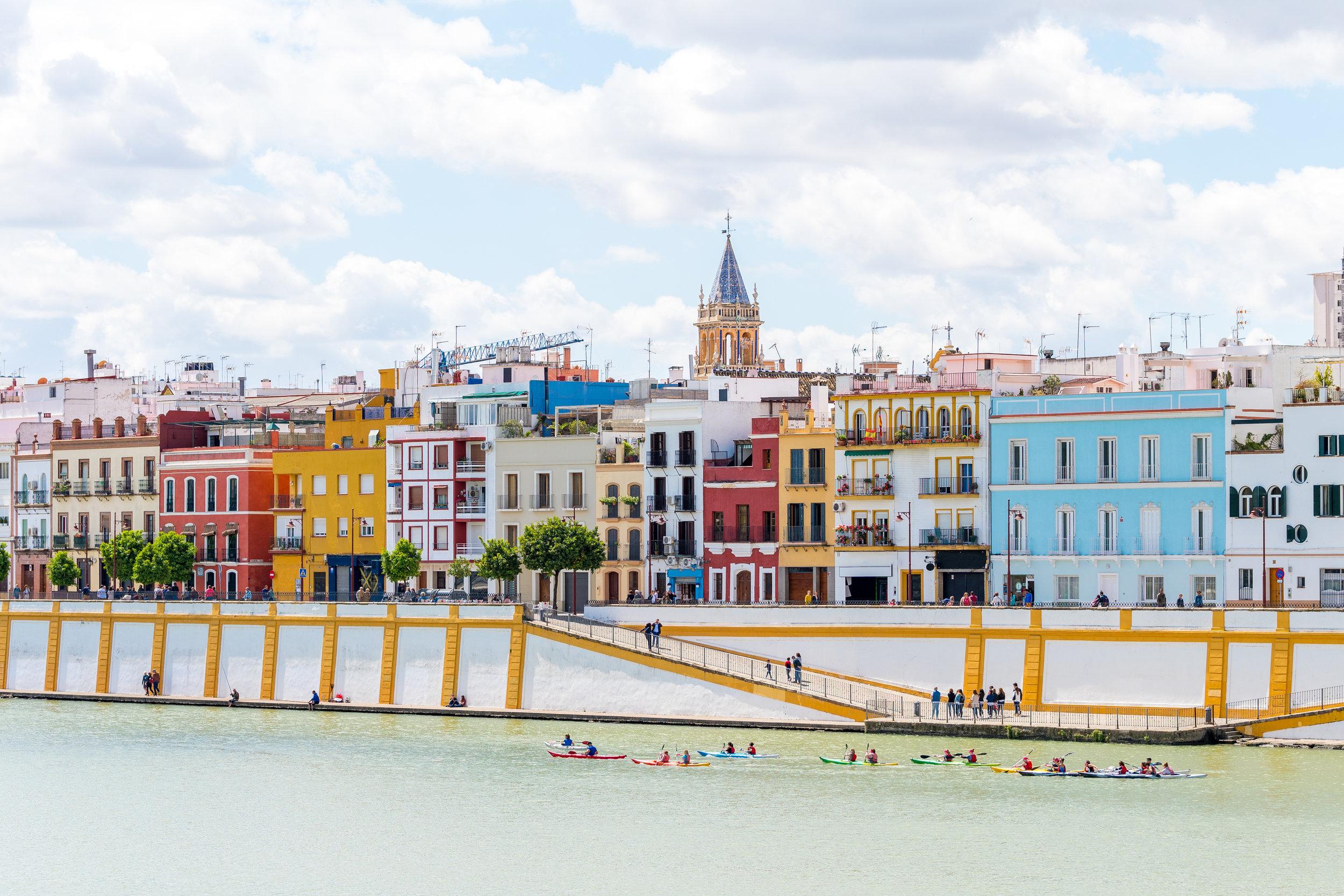 Río Guadalquivir y Barrio de Triana