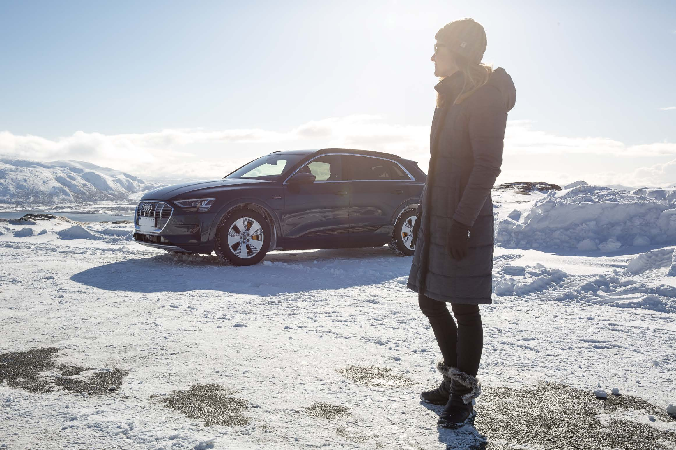 the beginning. - Create a global online series for the launch of the new 'e-tron' - Audi's first electric car. The project required us to produce a film every few weeks, for eight months – shooting across Canada, Europe and Scandinavia.