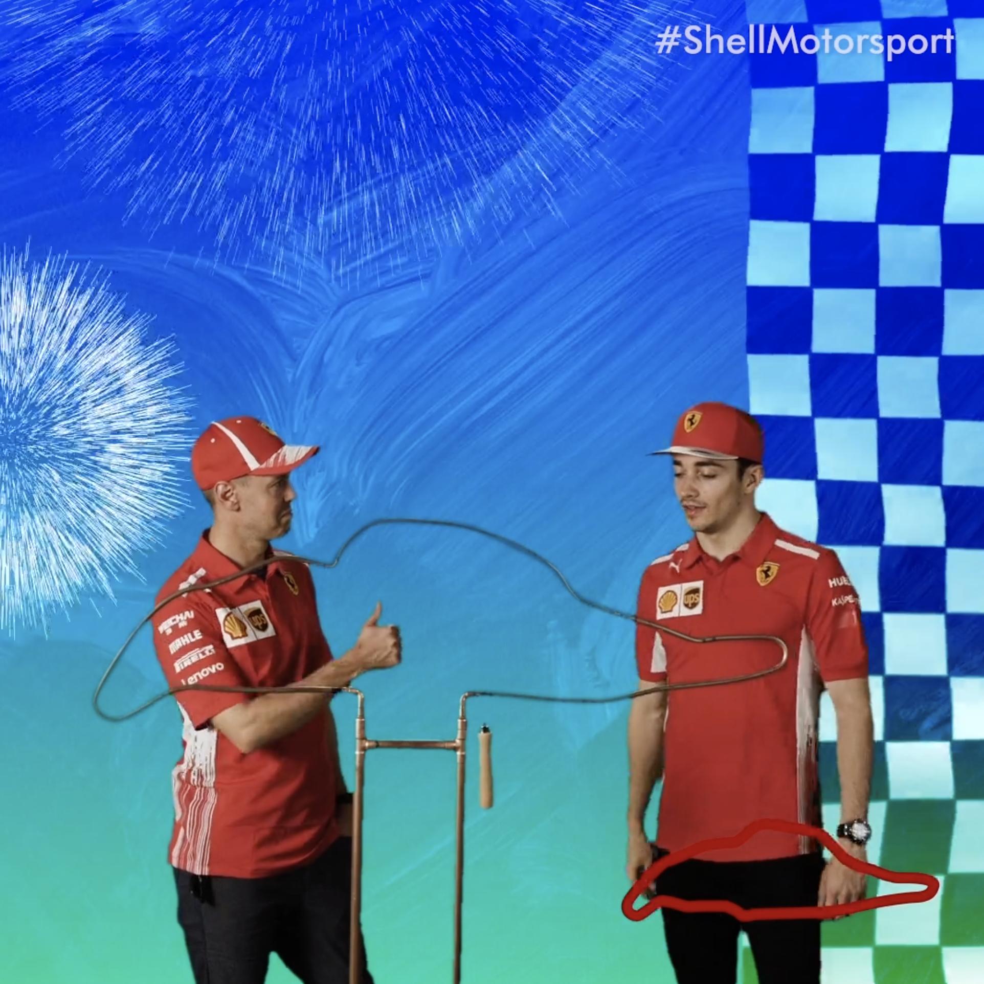 Shell V-Power x Ferrari