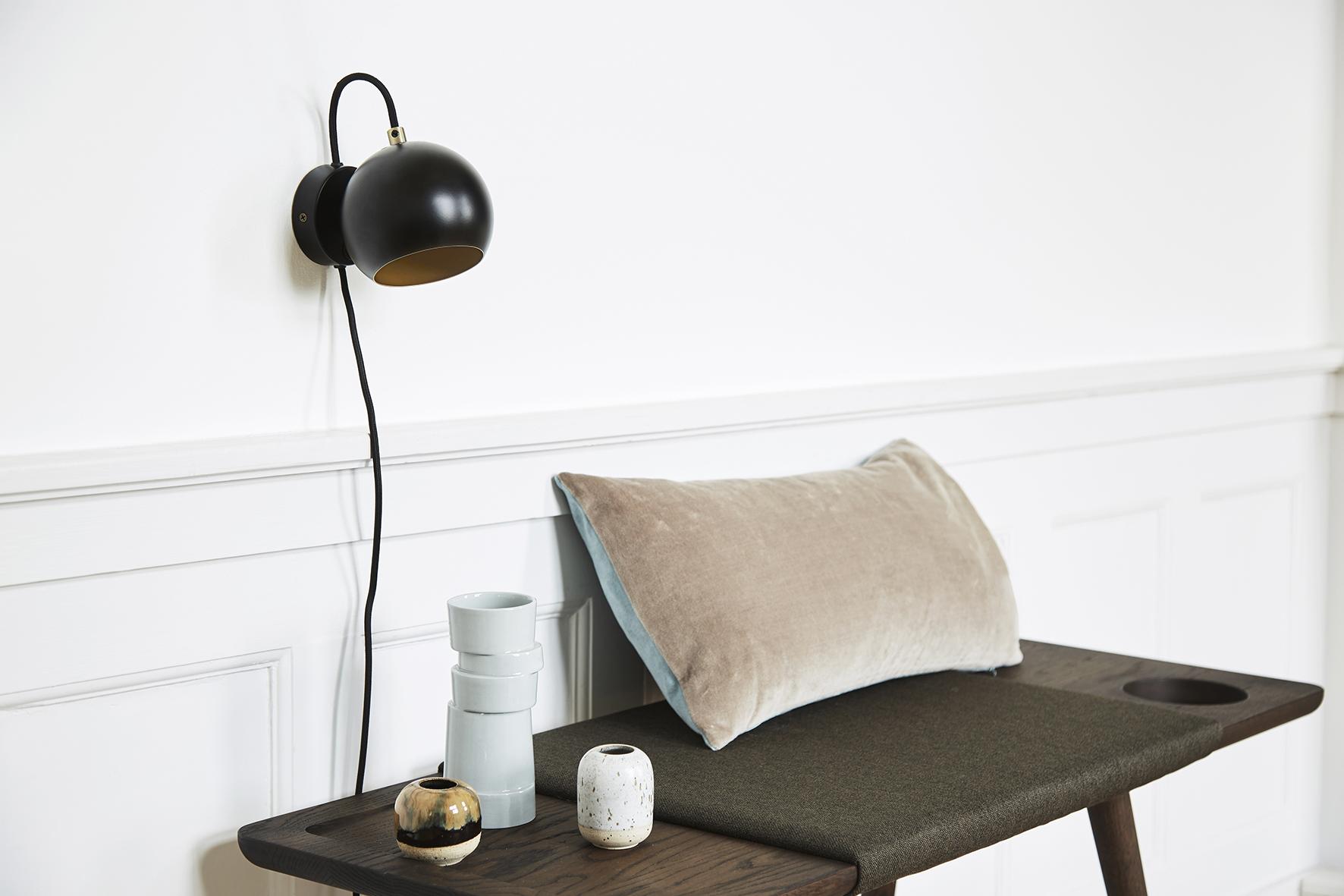 Ball wall lamp anniversary black matt - lifestyle Raadhusgade 4355_V1.jpg