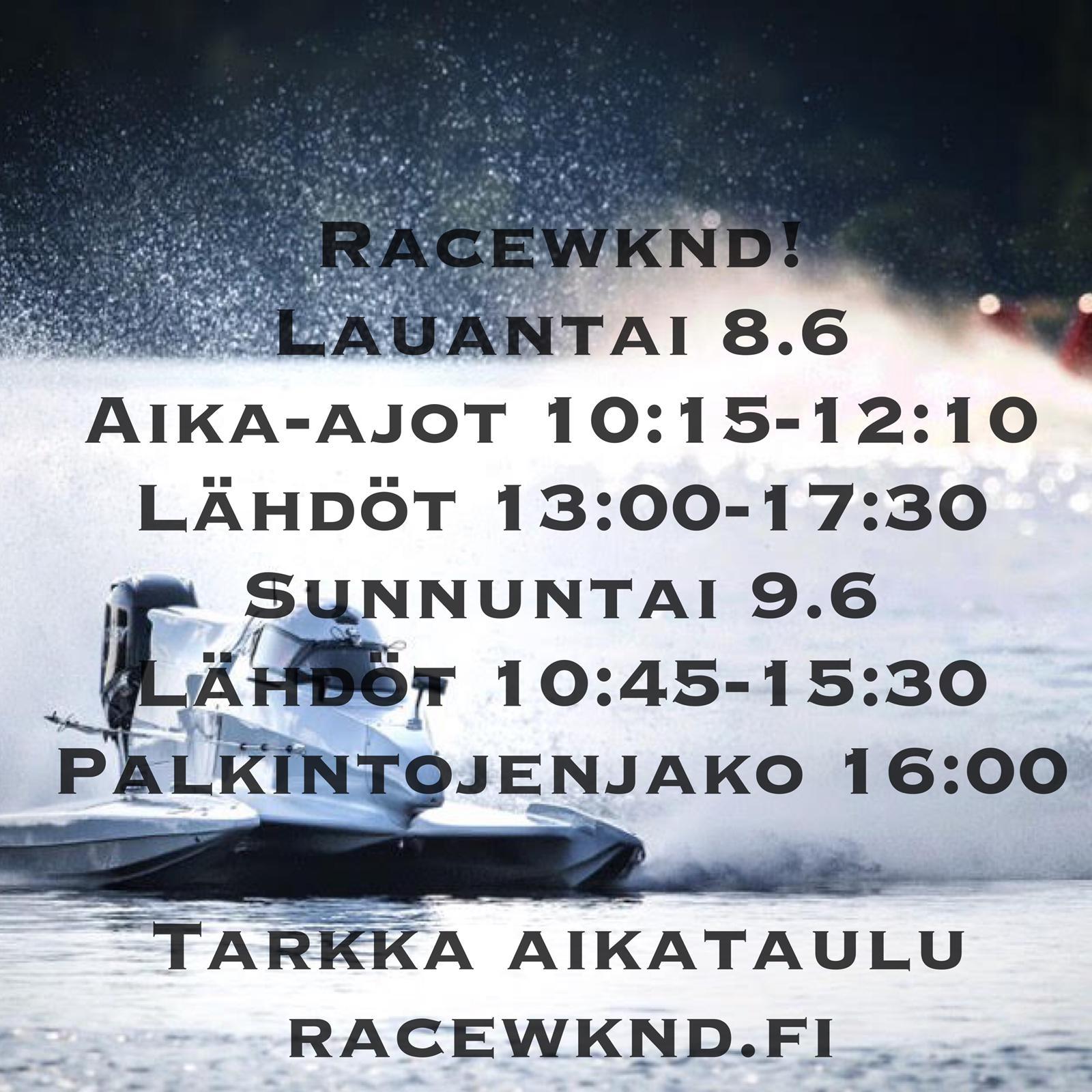 race wknd rauma