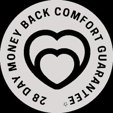 Limitless comfort guarantee grey.png