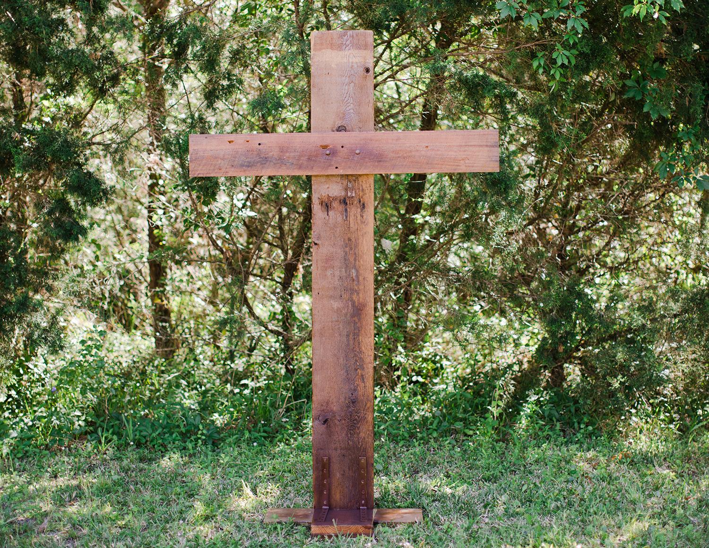 Cypress Wood Cross