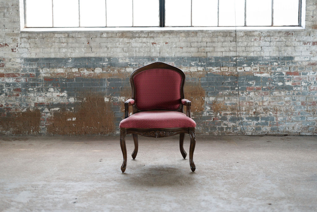 Emmett Armchair in Burgundy