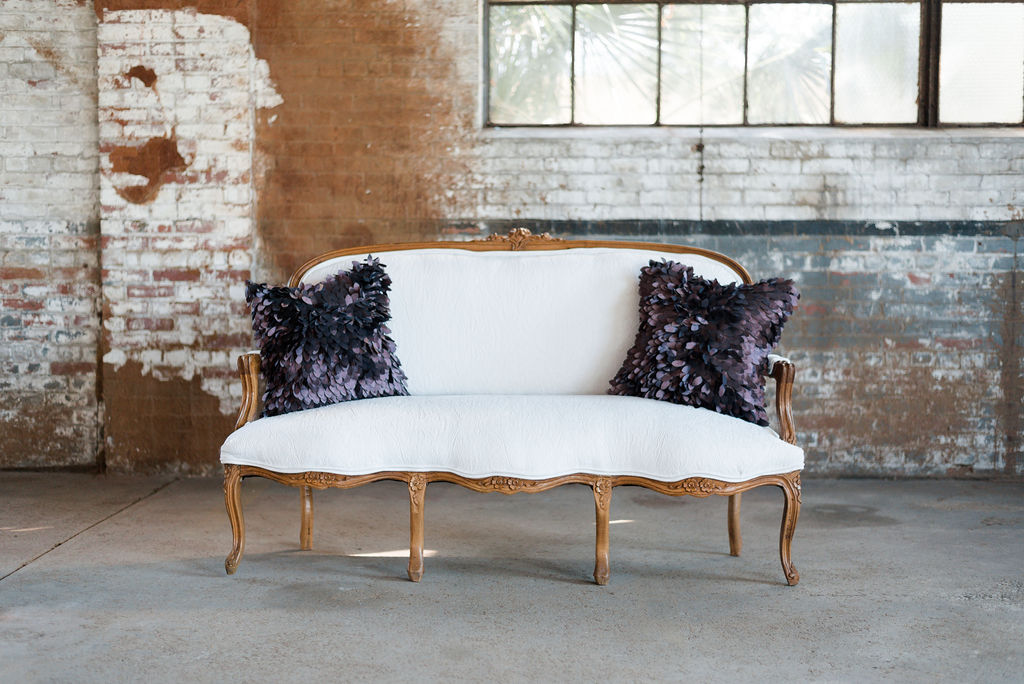 Guinevere Sofa in White