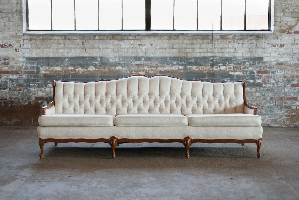 Jeannie Sofa in Ivory Tuft