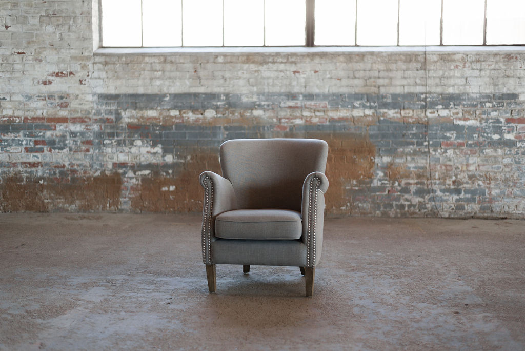 Liam Armchair in Grey