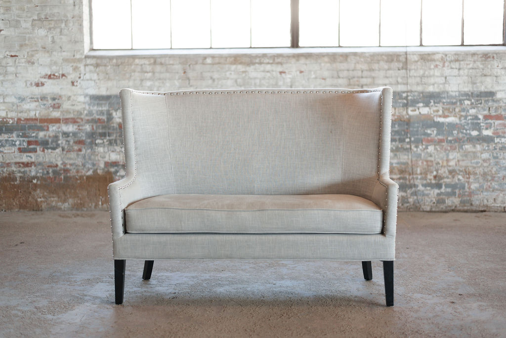 Palermo Settee in Grey
