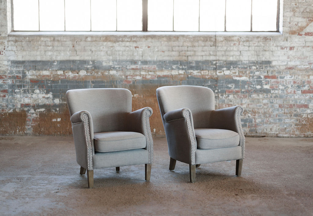 The Liams - Armchair in Grey