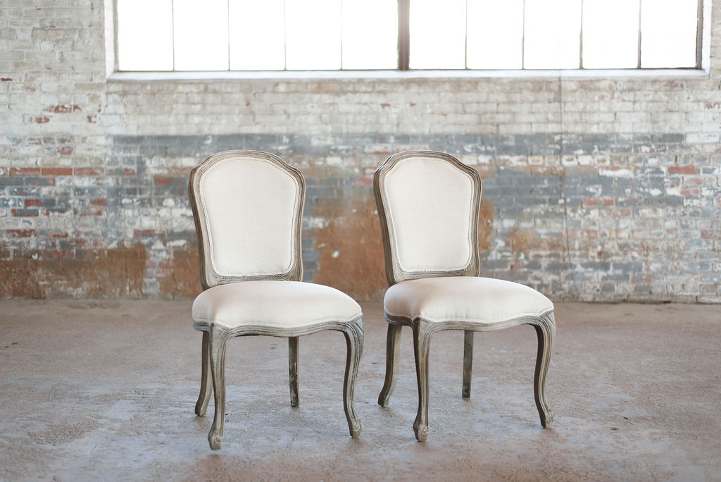 The Marcells - Side Chair - Ivory