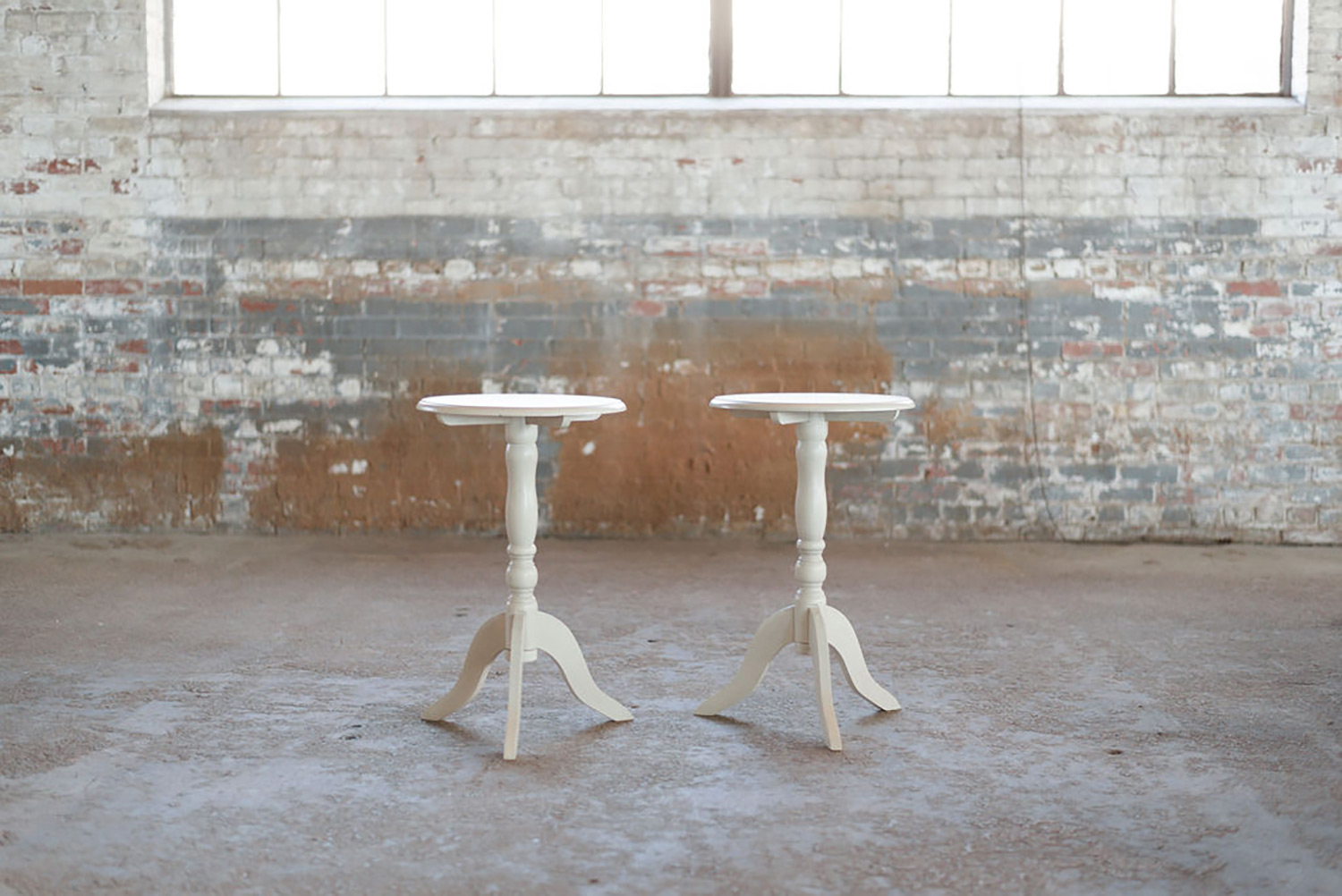 Avondale Side Tables in ivory
