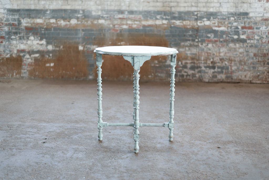 Robin End Table - Vintage Green