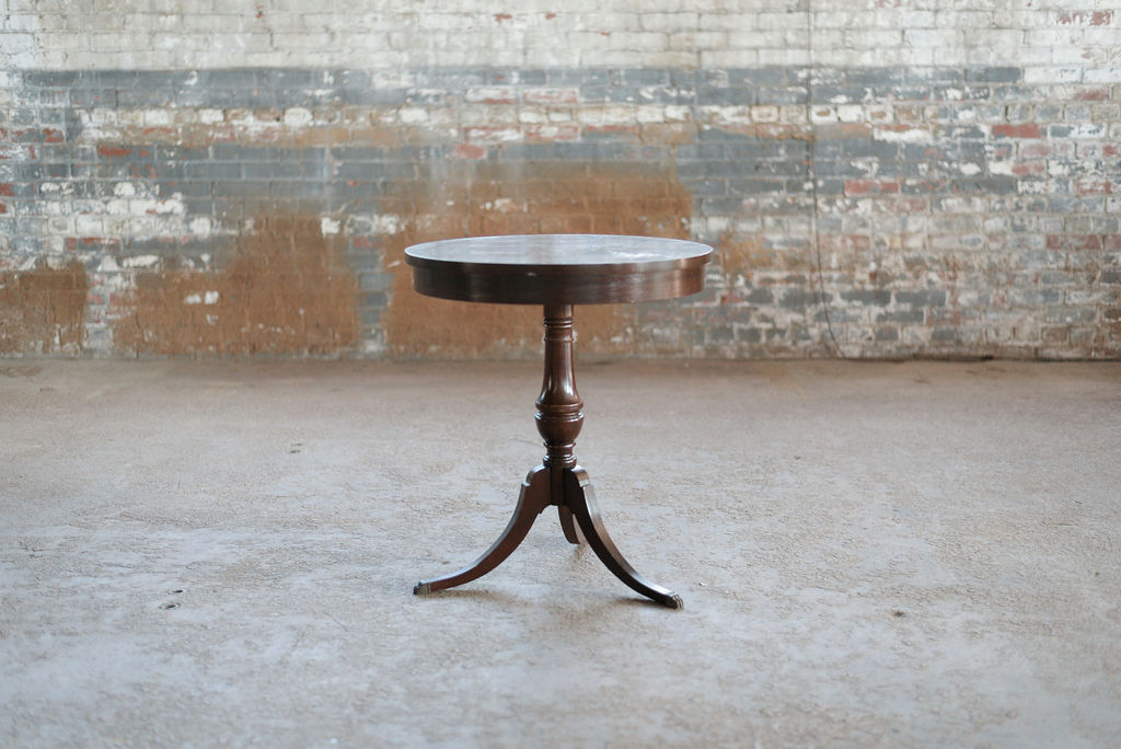 Simon End Table - Vintage Wood