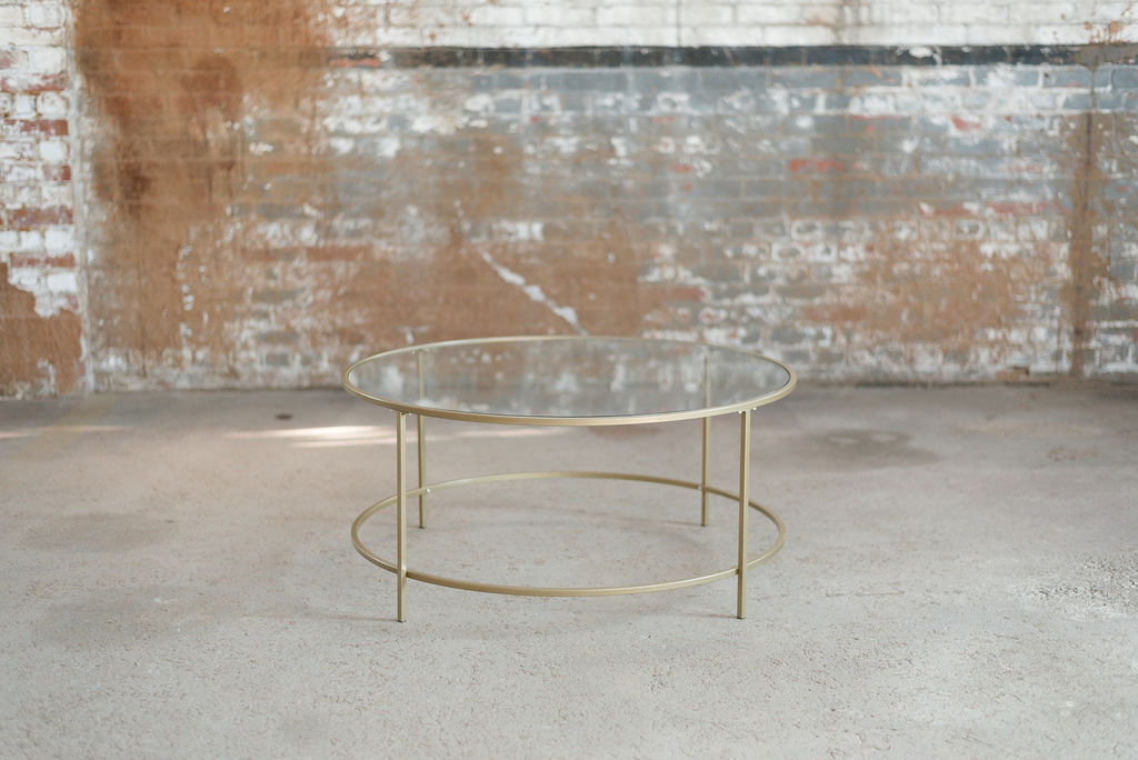 Nola Coffee Table - Gold