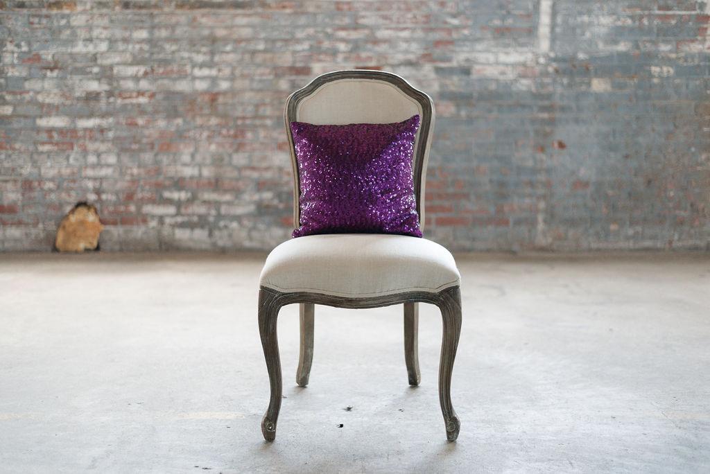 Purple Sequin - Square