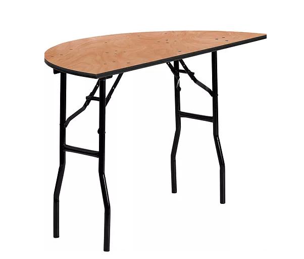 Half 48 inch Round Table