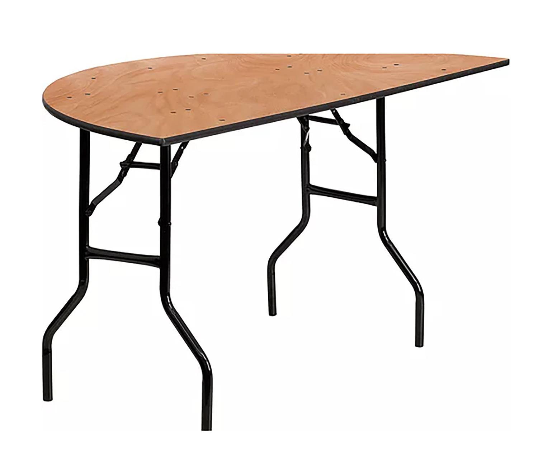 Half 60 inch Round Table