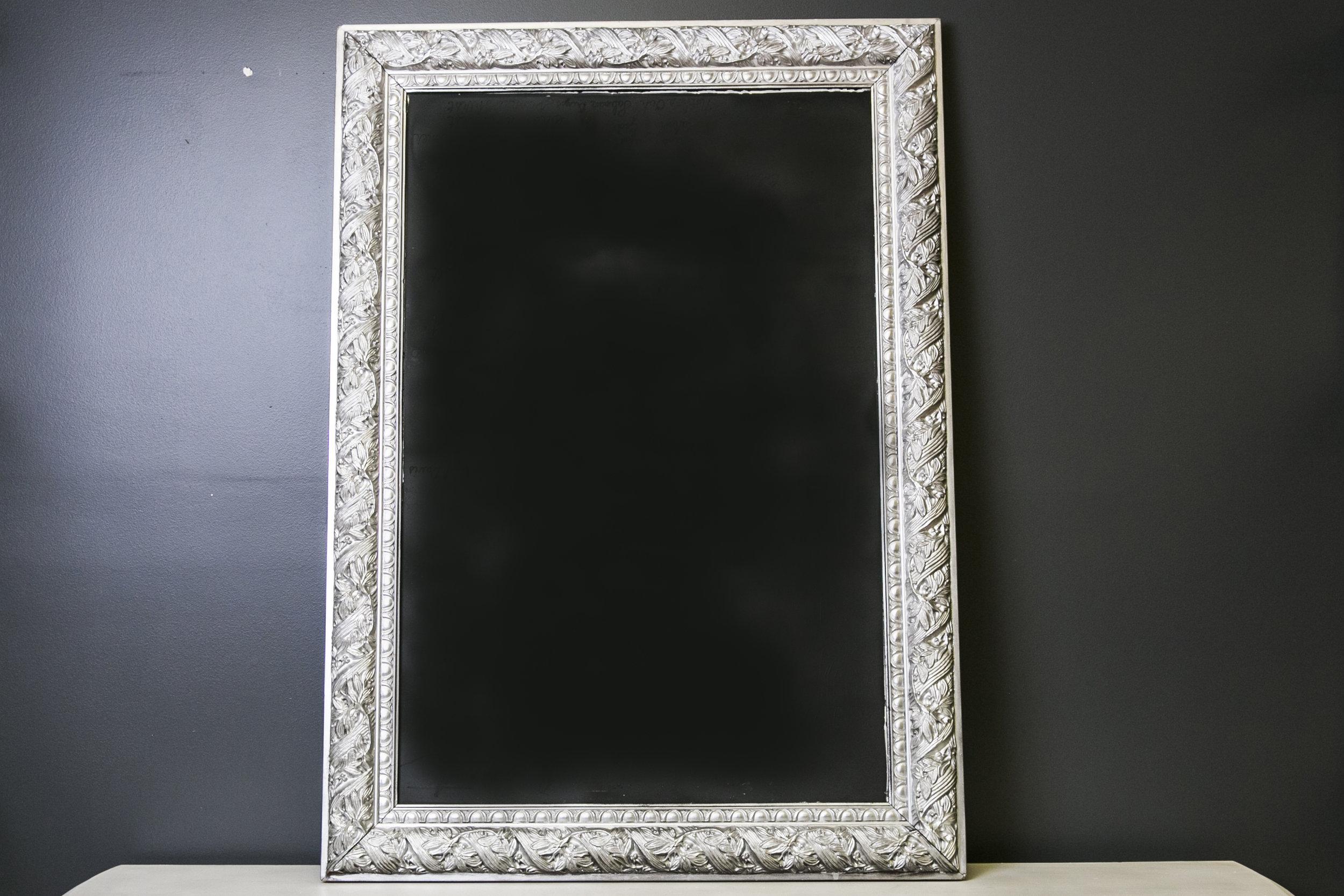 Van Buren Chalkboard . 43 x 31
