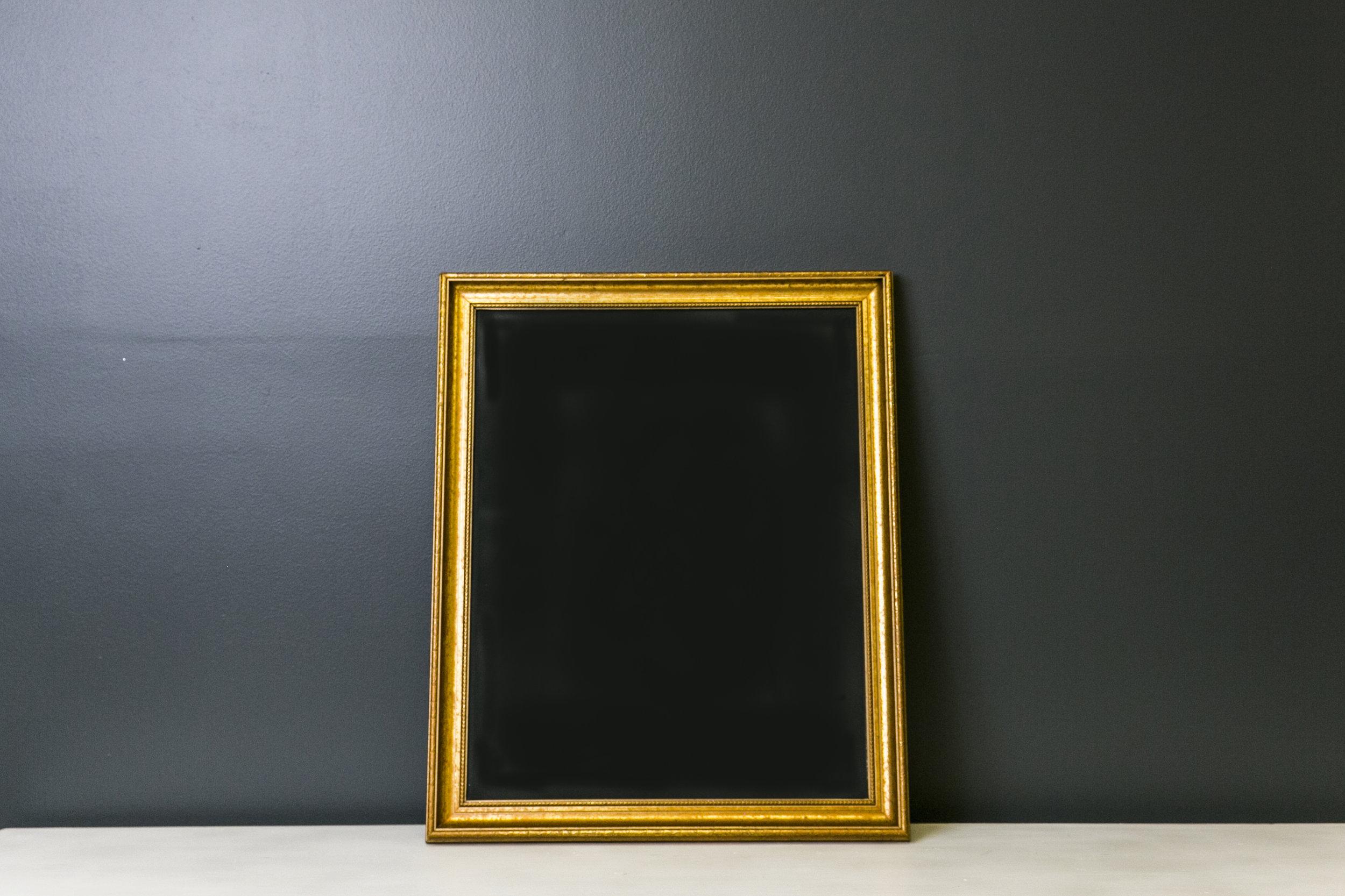 Matilda Large Chalkboard . 27 x 21
