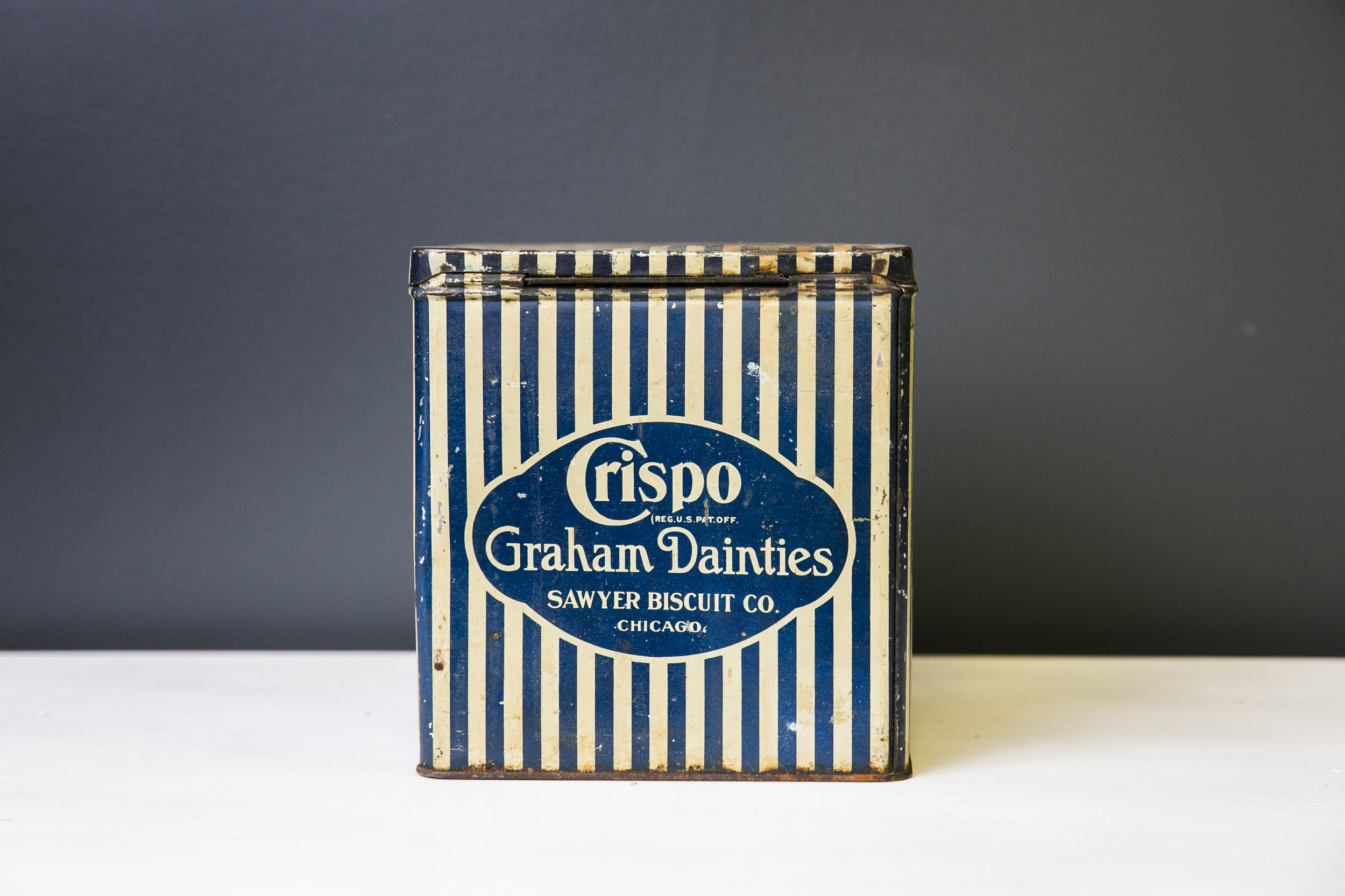 Crispo Graham Crackers - Tin