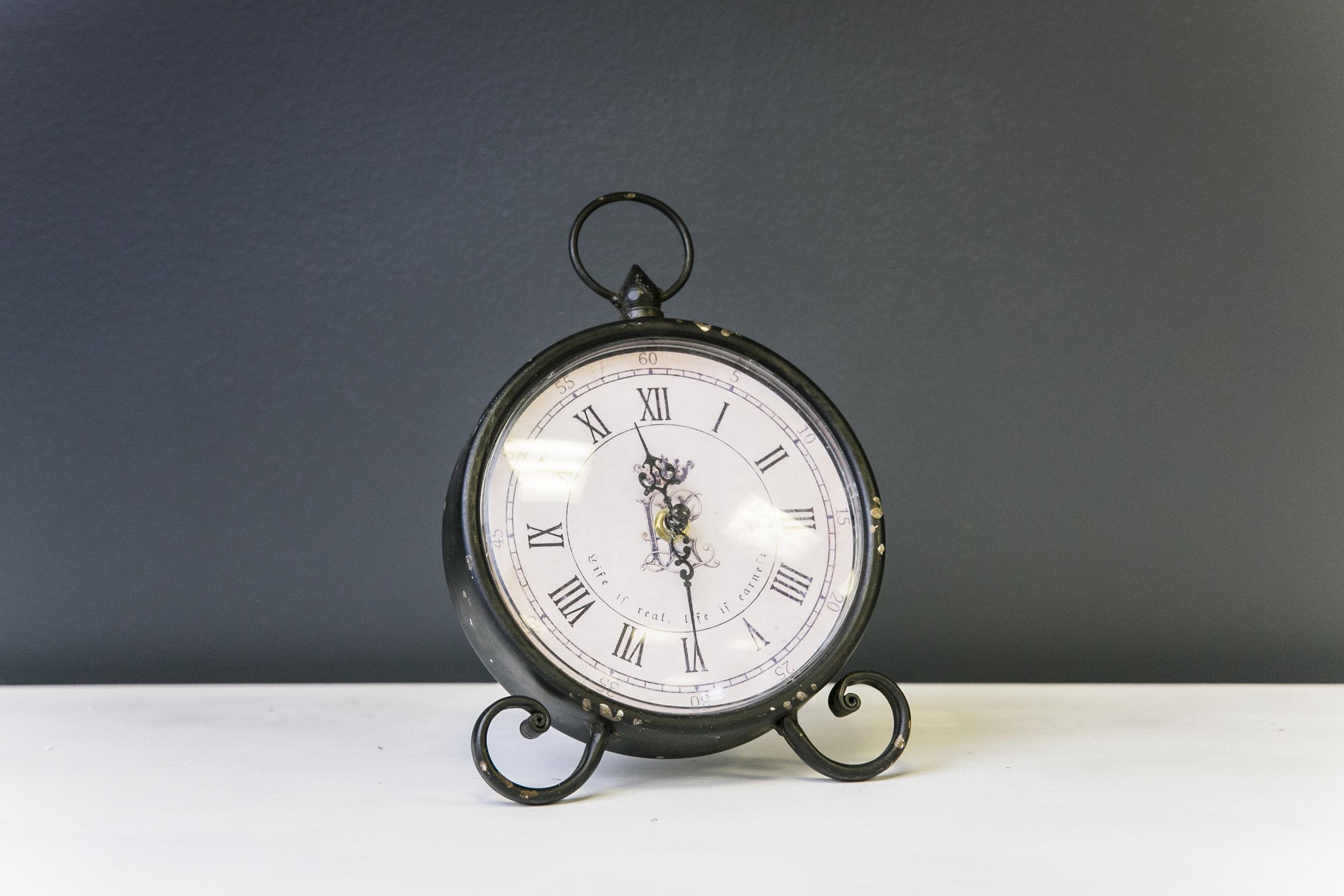 Vintage Round Clock