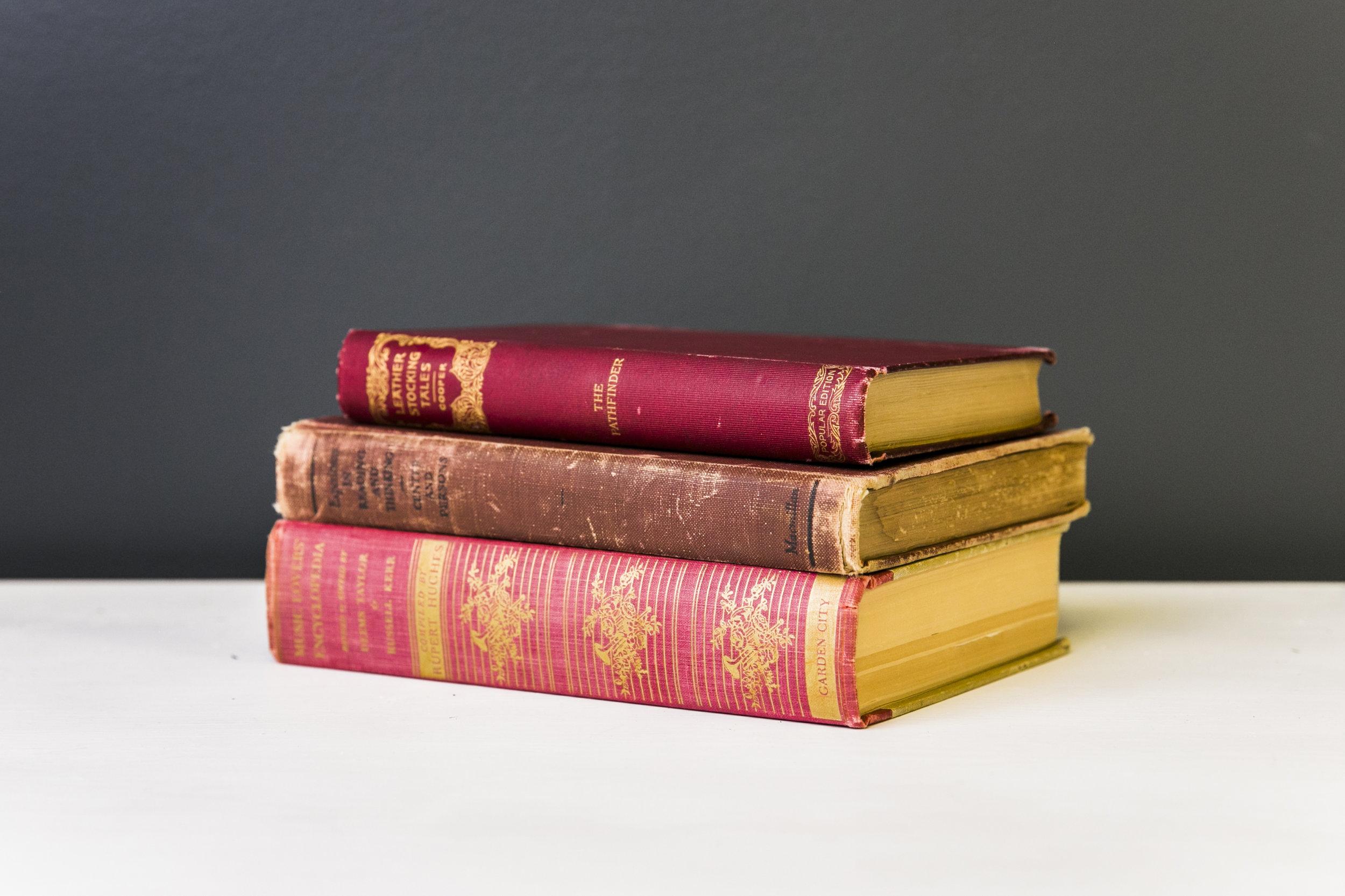 Books - Reds