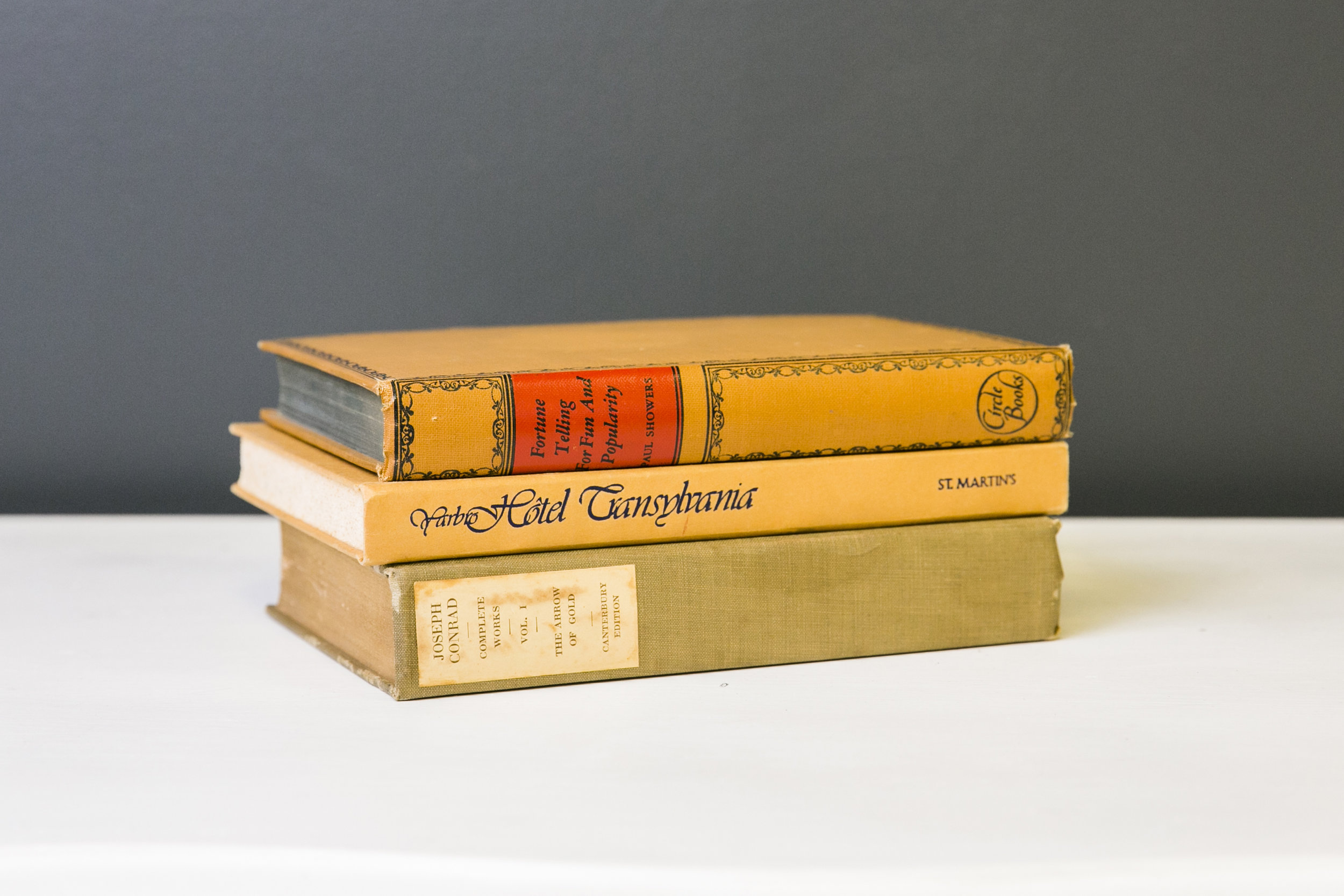 Books - Yellows to Tans/Golds