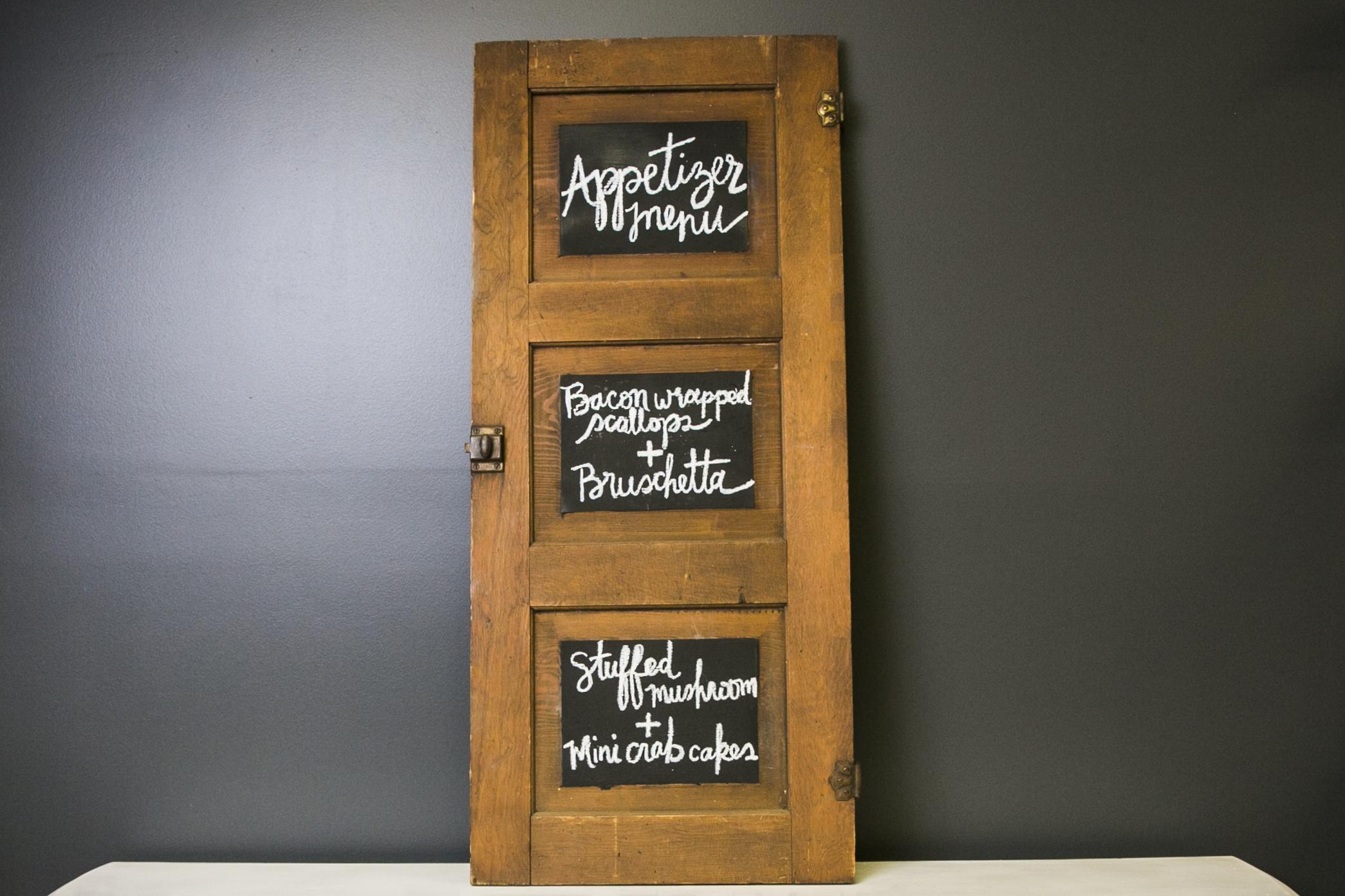 Conrad Vintage Cabinet Door 40.5 x 17.75 (Chalkboard)