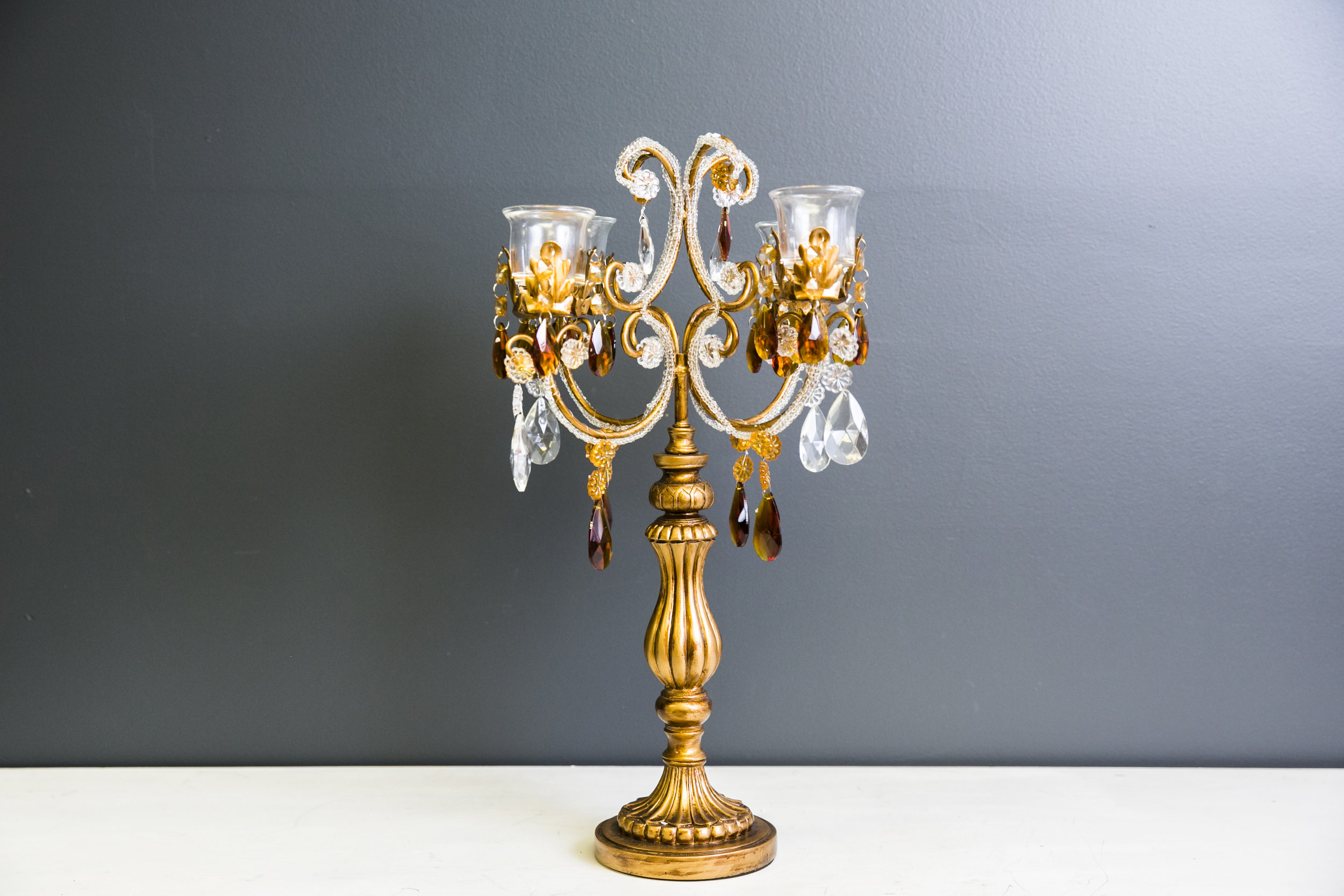 Betty Candelabra Small - Gold