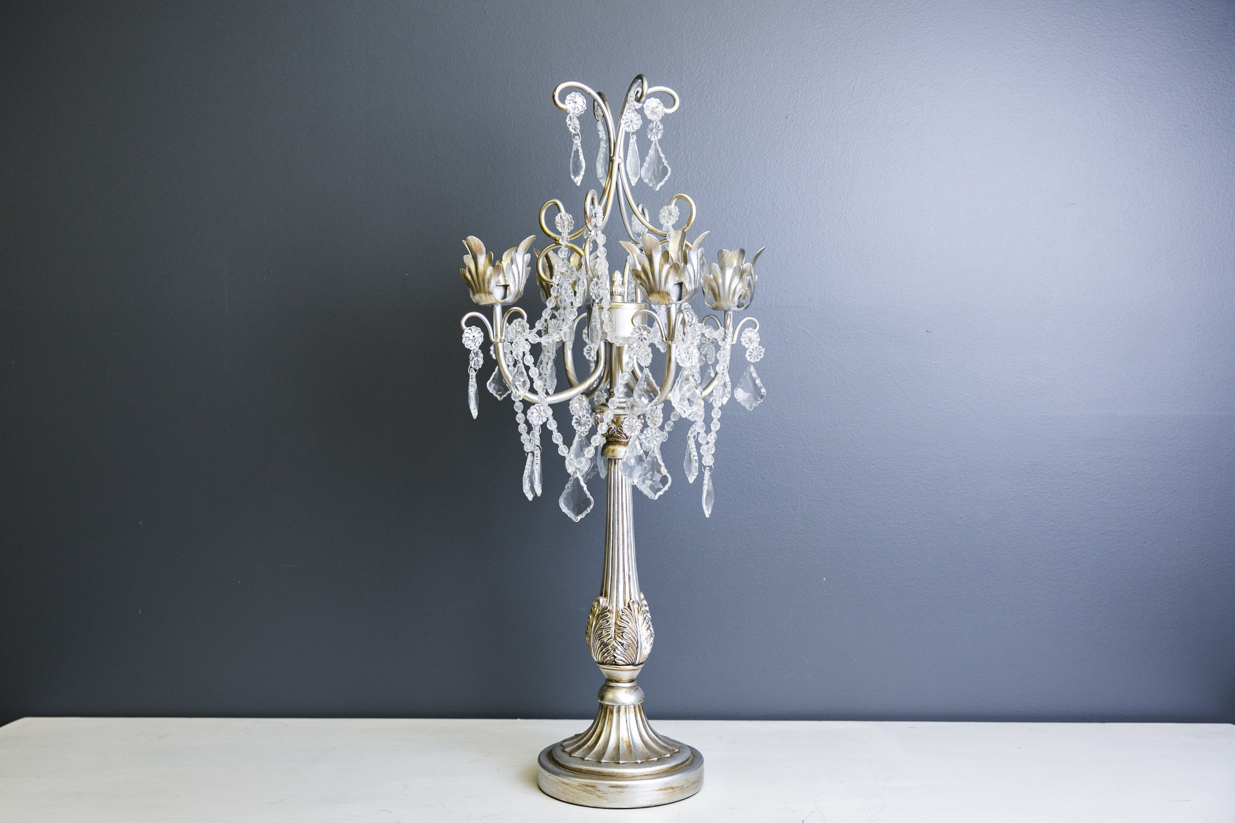Lilac Candelabra - Silve