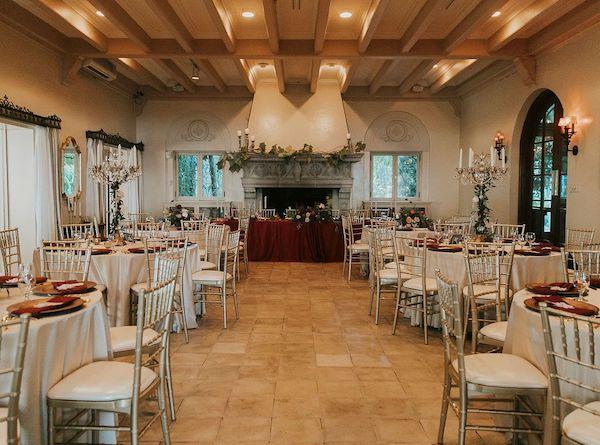 14 - Southern Charm Events – Club Continental– ClubContinental Wedding – Jacksonville wedding – Jacksonville wedding planner - fireplace ballroom.jpg