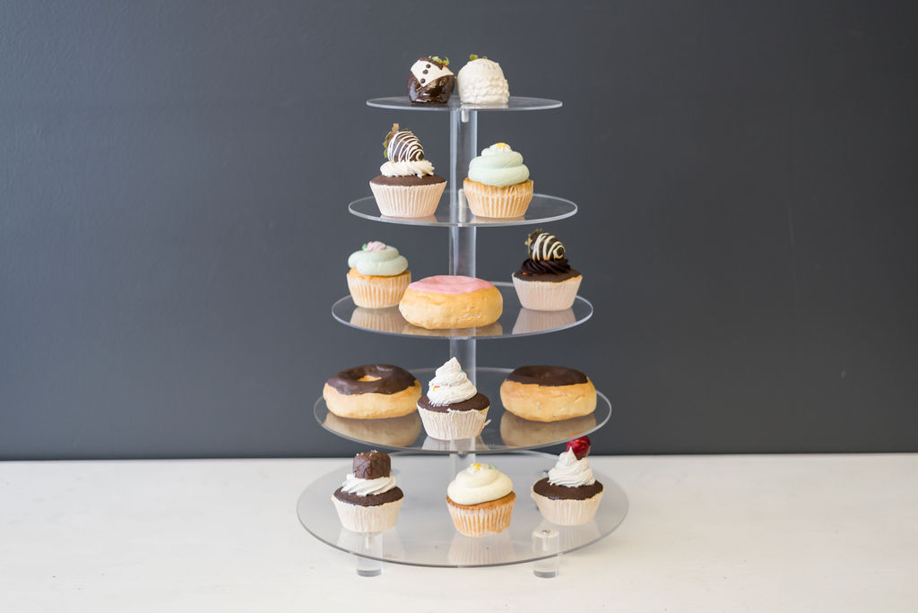 Assorted Acrylic Cupcake Stands