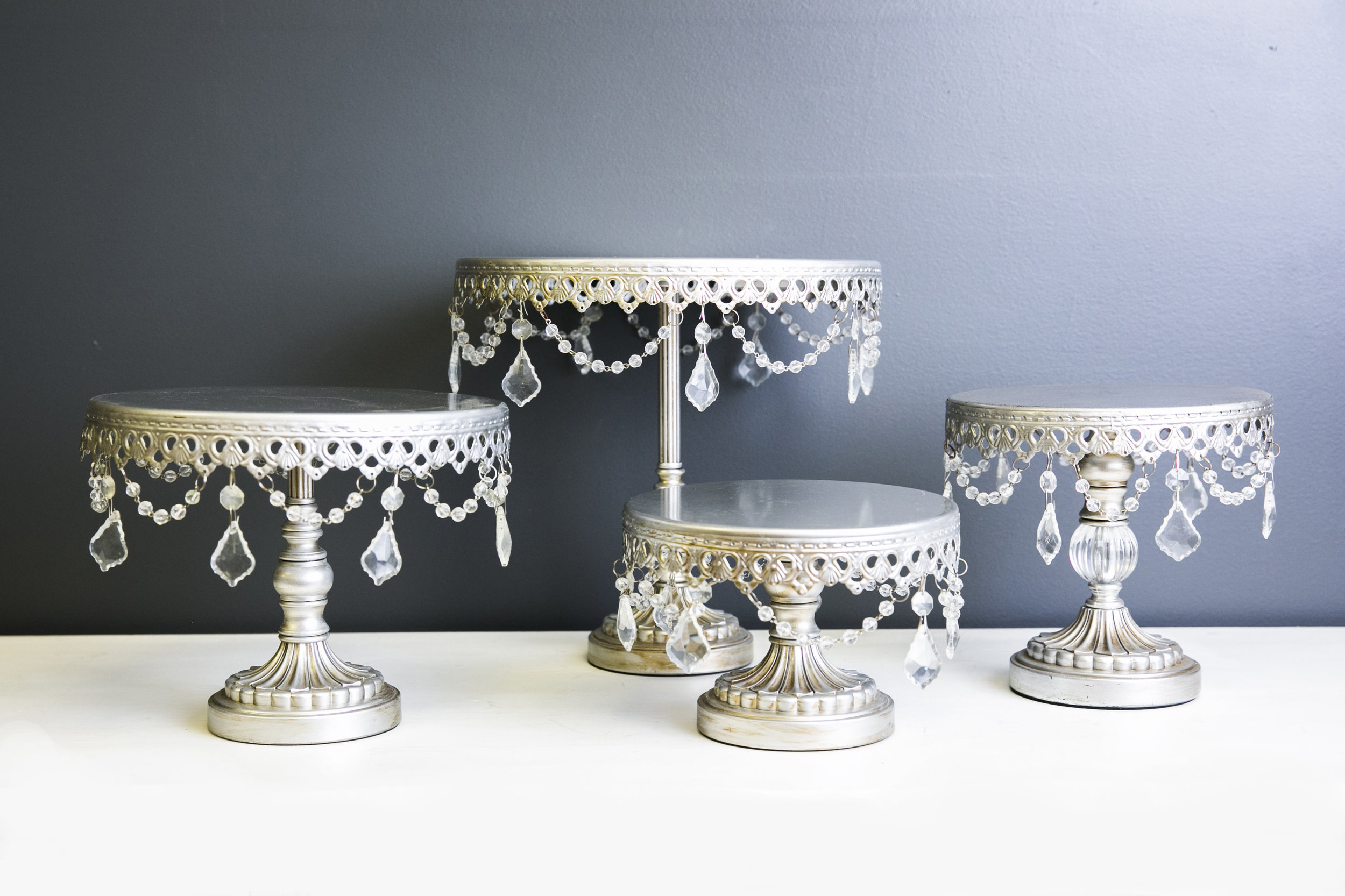 Cake Stand - Sophia Silver Collection